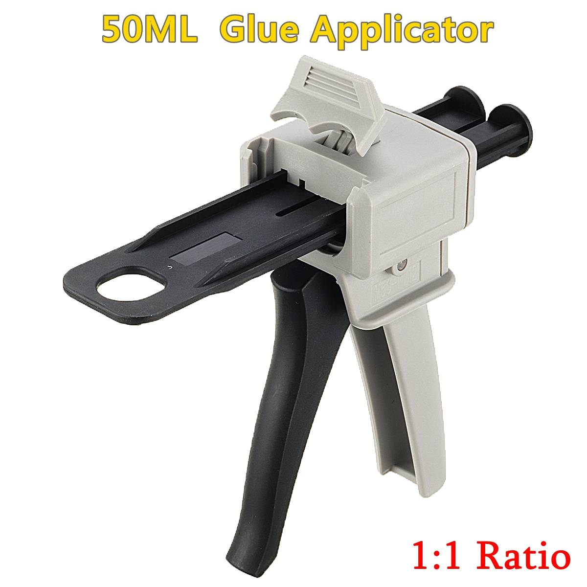 Glue Guns 50ml Two Component AB Epoxy Sealant Glue Applicator Glue Adhensive Squeeze Mixed 1:1 Manual Guns Dispenser
