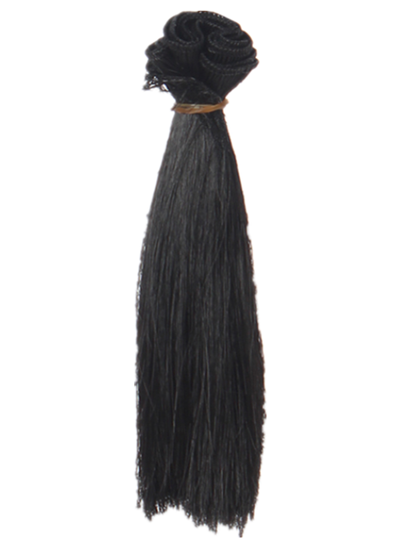 1 Pc 15*100cm Doll Accessories Straight Synthetic Fiber Wig Hair For Handmade Cloth High-temperature Wire Diy Texitle-5