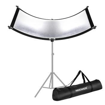 Neewer Clamshell odbłyśnik dyfuzor do studia i fotografii z torba do noszenia 66 × 24 Cal Arclight zakrzywione światło tanie i dobre opinie 10095737 92*10*20 cm Nieregularny kształt 2 6 kg