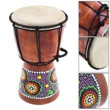 4 дюйма 6 дюймов Профессиональный африканский джембе барабан