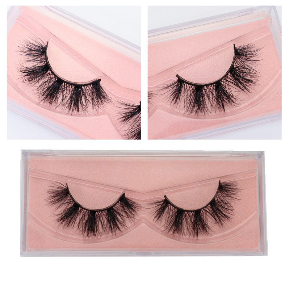 10/20/50/pack Mink Lashes 3D Mink Eyelashes 100% Cruelty Free Lashes Handmade Reusable Natural Eyelashes Popular False Lashes