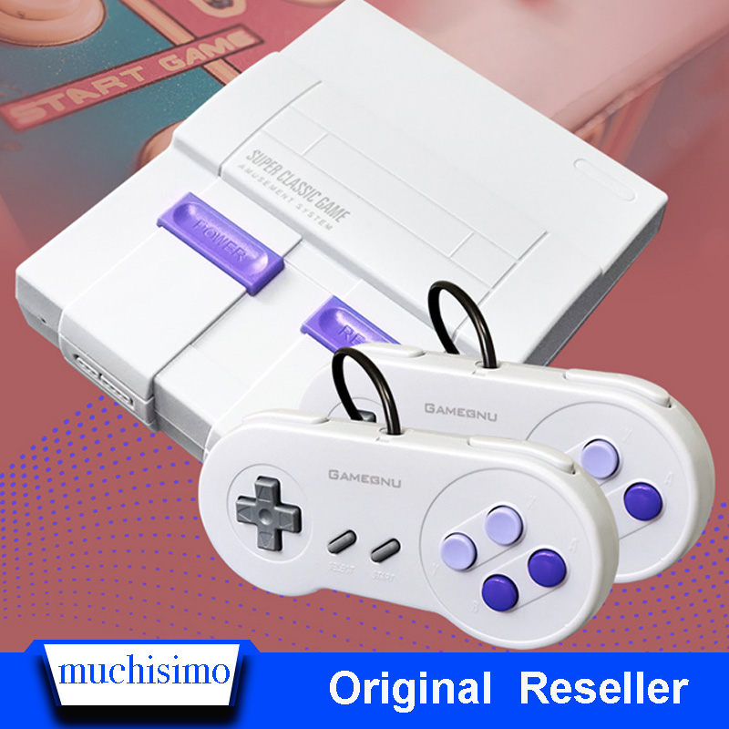 SUPER NES Game Console Retro Classic Handheld Video Game Player TV Mini Game Console Built-in 660 Games With WiFi Gamepad