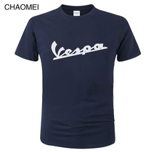 2019 Vespa T Shirt Men Funny Vespa Harajuku Print T-shirt 100% Cotton Summer Short Sleeve O Neck Tees Male Tops C108