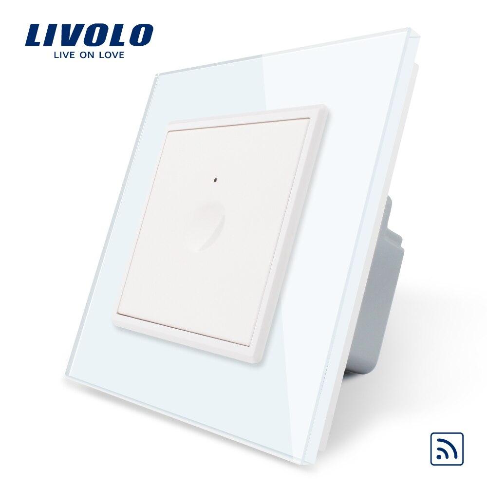 Image 5 - Nuevo Interruptor táctil Livolo UE estándar SeriesWall, 1 Gang 1Way Touch, AC 220 250, 7 opciones de colores, llave de plástico, sin logotipoConmutadores   -