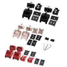Metall Motor Hood Latch Lock Fänge Kits für Jeep Wrangler JK Unbegrenzte Rubicon 2008 2009 2010 2012 2013 2014 2015 2016 2017
