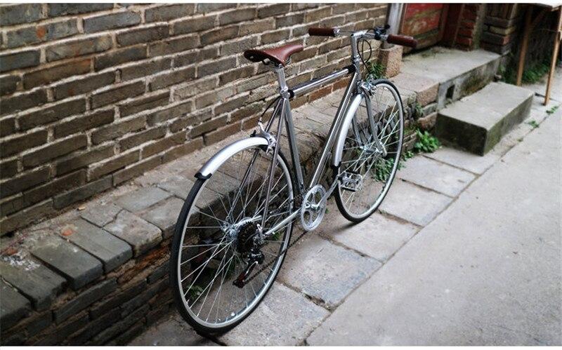 Para-choque de bicicleta de estrada 700c, engrenagem