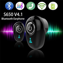 S650 Mini Wireless Stereo Bluetooth 4.1 Earphone In-Ear Headset Sport Earbud Handfree