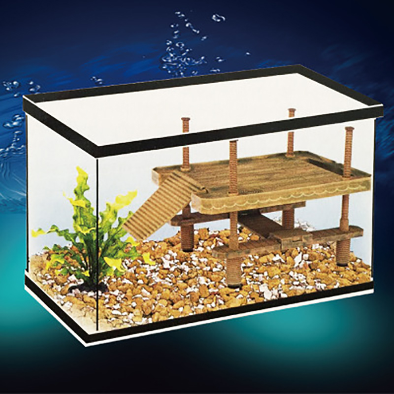 Aquarium Ornaments Reptile Turtle Frog Pier Floating Basking Platform Aquarium Tank Decor Amphibian Leisure Table