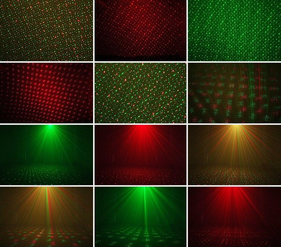 ALIEN Moving Static Red Green Blue Dots Star Christmas Laser Light Projector Outdoor Garden Waterproof Holiday Xmas Tree Lights 3