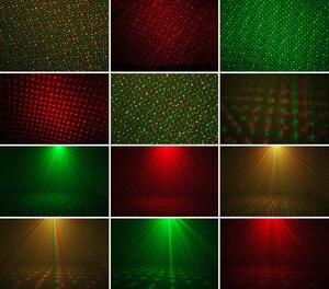 Image 3 - 외계인 움직이는 정적 빨간색 녹색 파란색 점 스타 크리스마스 레이저 빛 프로젝터 야외 정원 방수 휴가 크리스마스 트리 조명