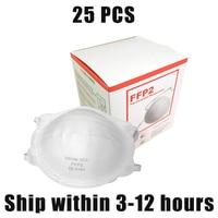 2/5/10 Pcs vouw wegwerp stofmaskers  ccr anti fog anti deeltjes werk veiligheid maskers  huishoudelijke schoon maskers-in Maskers van Veiligheid en bescherming op
