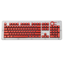 Overgild Keycap مجموعة ل الكرز MX لوحة المفاتيح الميكانيكية 104 مفاتيح مزدوجة النار حقن المعادن اللون Keycap مع مفتاح أداة إزالة الصواميل