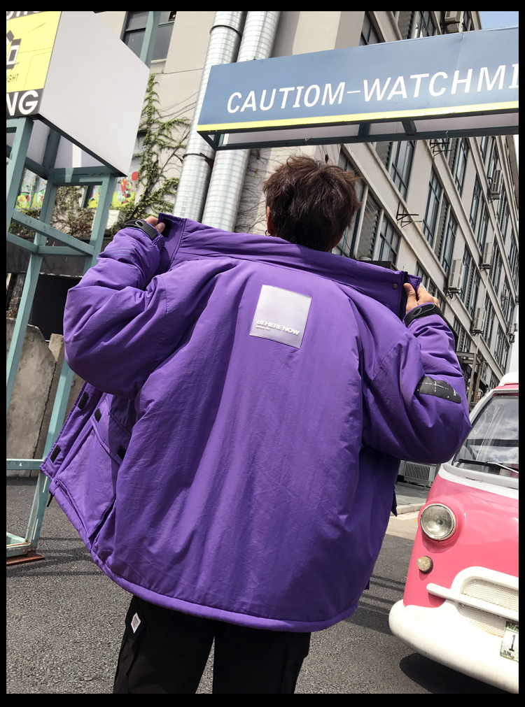 Men's Quality Student Winter Clothes Jacket Men Parka Thick Warm Outwear Korean Youth Streetwear Hip Hop Japan Style Harajuku 35
