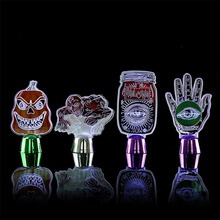 Halloween Decoration Night Light Pumpkin Skull Desktop LED Horror Props Mall Bar Ornaments