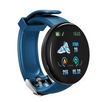 Tela colorida relógio inteligente freqüência cardíaca pressão arterial saúde faixa de fitness esporte pulseira unisex tt @ 88 6