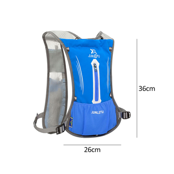 Nylon vest running backpack sports