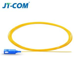 Image 5 - 20/50/100/200PCS  SC APC Fiber Optic Pigtail Simplex 0.9mm 9/125 Single Mode 1 core SC UPC Optical Fiber Pigtail 1.5M