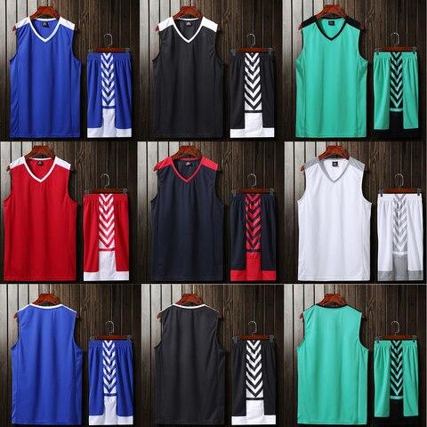 Conjuntos de Camisas de Basquete Uniformes de Basquete de Basquete de Basquete de Esportes de Esportes