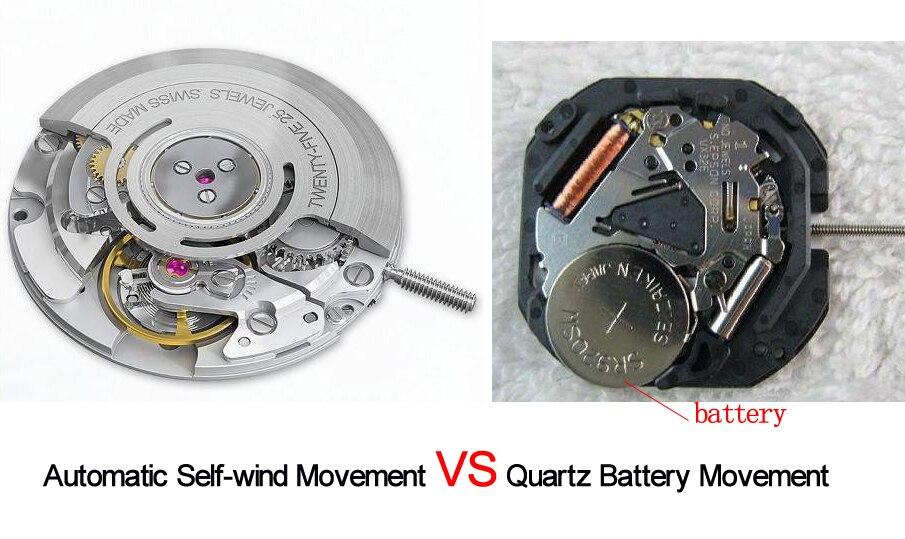 automatic self-wind movement