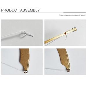 Image 5 - Righello di Posizionamento Arco Sopracciglio Mappatura Make Up Strumento di Misura Filo Tintura Fodere Semi Permanente Microblading Sicuro