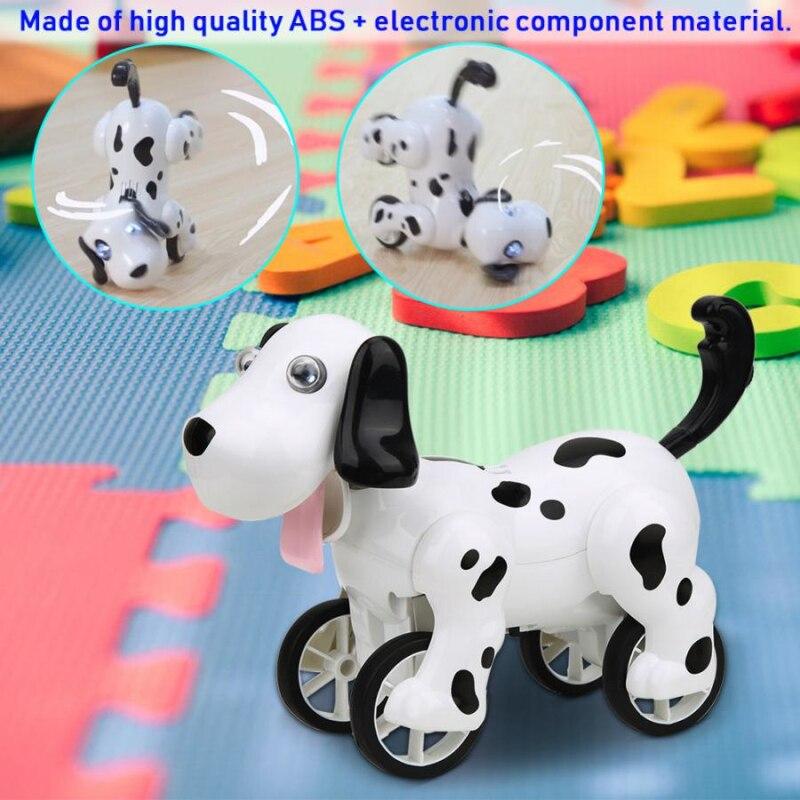 Controle remoto elétrico brinquedo do cão rc