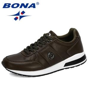 Image 5 - BONA 2020 새로운 디자이너 인기있는 남성 캐주얼 신발 경량 로퍼 신발 남자 야외 레저 신발 Zapatillas Para Hombre