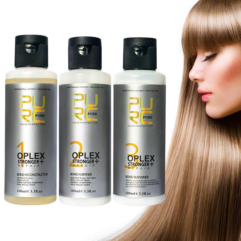 Очищающий Кондиционер для волос 100 мл, восстанавливающие соединения поврежденных волос, Эластичность волос, усиленное лечение прочности