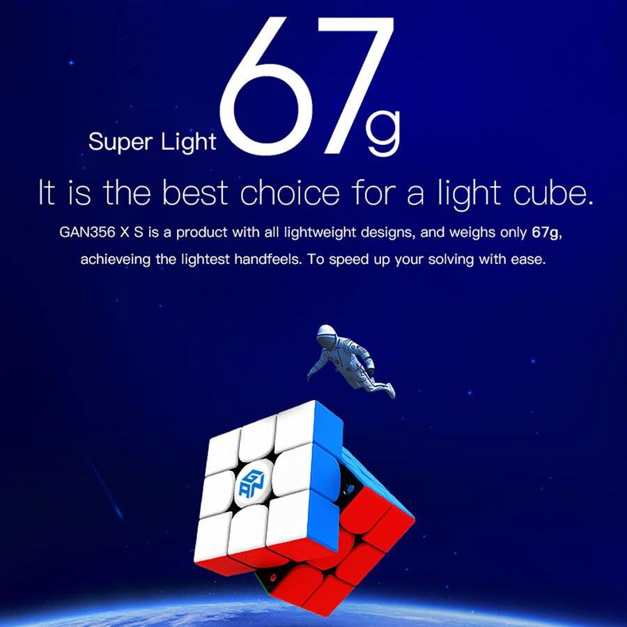 Cube magique puzzle GANCUBE GAN356 GAN 356XS X gan356xs 3X3X3 aimant magnétique professionnel cube GAN356X cube de vitesse - 6