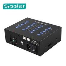 Sipolar תעשייתי כיתה 110V 220V 20 יציאת USB 2.0 רכזת טעינת רכזת USB תחנת מטען עם 5V22A כוח מתאם עבור 3G מודם