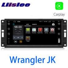 LiisLee سيارة الوسائط المتعددة نظام تحديد المواقع ايفي الصوت راديو ستيريو ل جيب رانجلر JK J8 2007 ~ 2018 النمط الأصلي الملاحة نافي
