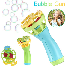 Electric Bubble Machine Wands Maker Automatic Blower Toys Gifts Outdoor for children Fun