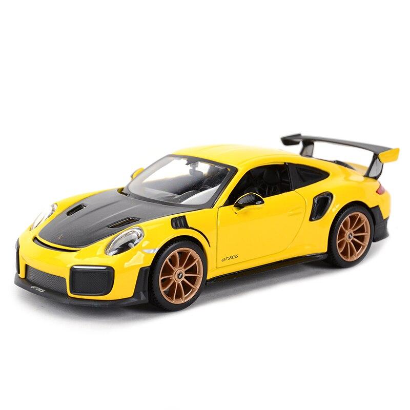Maisto 1:24 2018 Porsche 911 GT2 RS Sports Car Static Simulation Diecast Alloy Model Car
