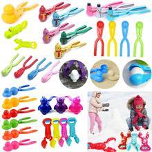Зимний пластиковый Снежный мяч, детский уличный Снежный песочный мяч, Формовочная форма, игрушки для детей, Спортивная игрушка для борьбы на открытом воздухе, спортивные снежные шары, игрушка