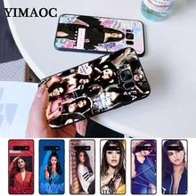 Selena Gomez Marie Silicone Case for Samsung S6 Edge S7 S8 Plus S9 S10 S10e Note 8 9 10 M10 M20 M30