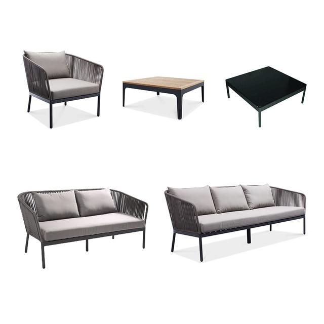 Modern Design Garden Furniture Rattan 4