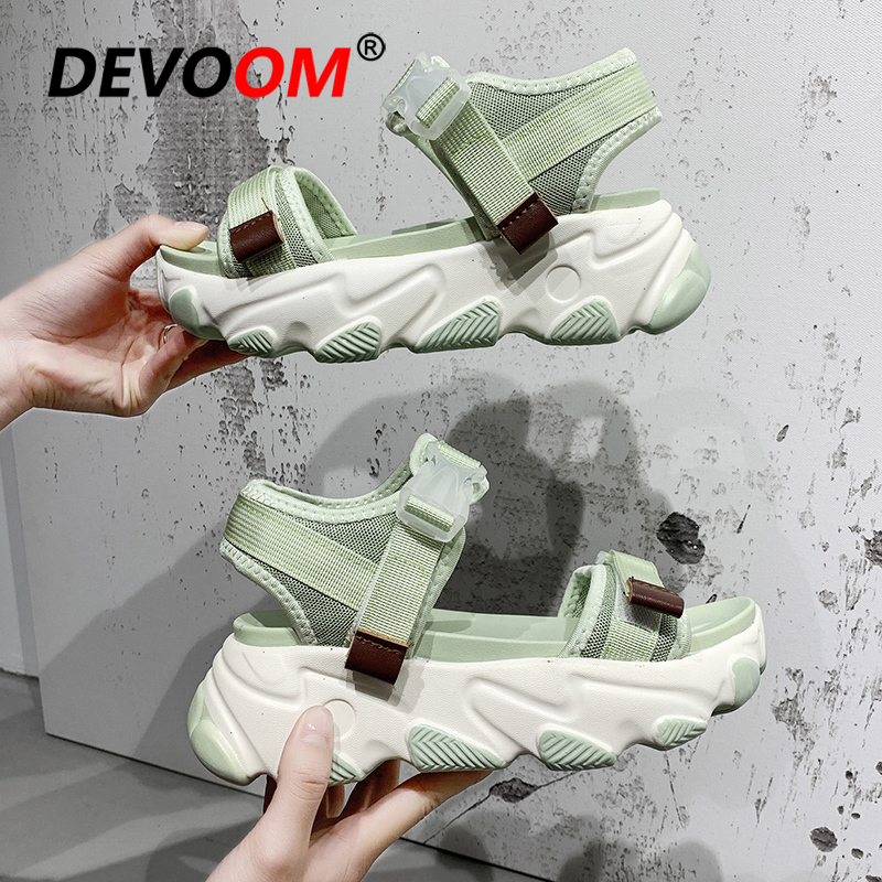 Outdoor Hiking Chunky Sneakers Sandals Women Beach Ladies Sport Sandals Summer Platform Shoes Sandale Femme 2020 Sandalias Mujer