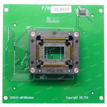 Frete grátis 100% original novo dx3049 adaptador para xeltek superpro 6100/6100n programador dx3049 soquete