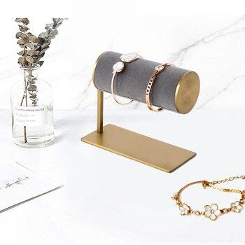 wood 3 tier bracelet watch stand holder jewelry showcase display storage necklace bangle organizer Jewelry organizer Watch&Bangle Bracelet Holder Jewelry Storage Bracelet Display Jewelry Stand  Bracelet