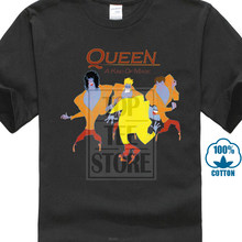 New Queen Band A Kind Of Magic Album Cover Men'S Black T Shirt Size S 3Xl 013201(China)