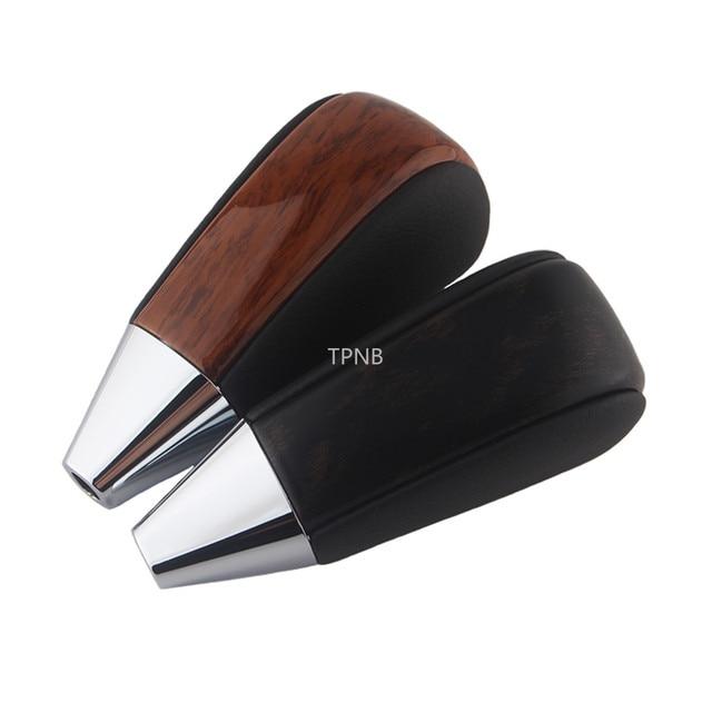 Черная и персиковая деревянная автоматическая ручка переключения передач для Toyota Land Cruiser 200 2008 2009 2010 2011 2012 2013 2014 2015