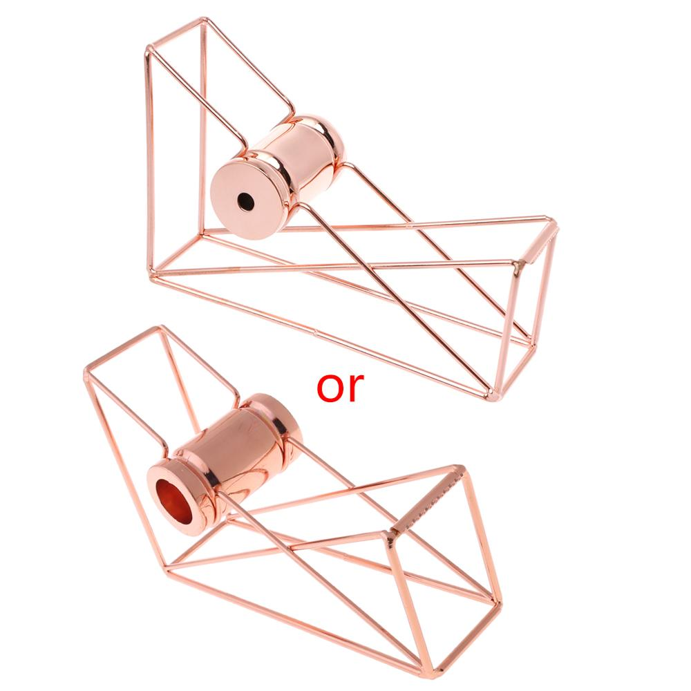 Rose Gold Hollow Tape Cutter Washi Storage Organizer Stationery Office Supplies
