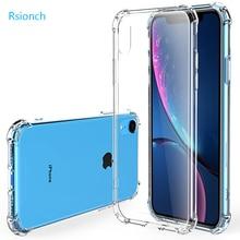 Rsionch 2019 Neue Stoßfest Weiche Silikon Fall für iPhone 11 Pro Max 11 Pro 11 Xr X XS XS Max klar Weichen TPU Schutz Zurück abdeckung für Neue iPhone 11 Pro Max 11 Pro 11 7 8 6 6s plus 5 5s