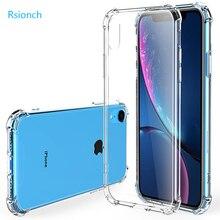 Rsionch 2019 nueva funda de silicona suave a prueba de golpes para iPhone 11 Pro Max 11 Pro 11 Xr X XS Max cubierta trasera de protección de TPU suave transparente para nuevo iPhone 11 Pro Max 11 Pro 11 7 8 6s plus 5 5S