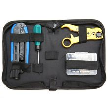 Coax Cable Crimper Kit, Compression Tool Coax Cable Crimper Kit, Adjustable Rg6 Rg59 Rg11 75-5 75-7 Coaxial Cable Stripper With coaxial cable crimping tool set for bnc connector tv cable rg55 58 59 with coaxial crimper cutter stripper exchangeable dies
