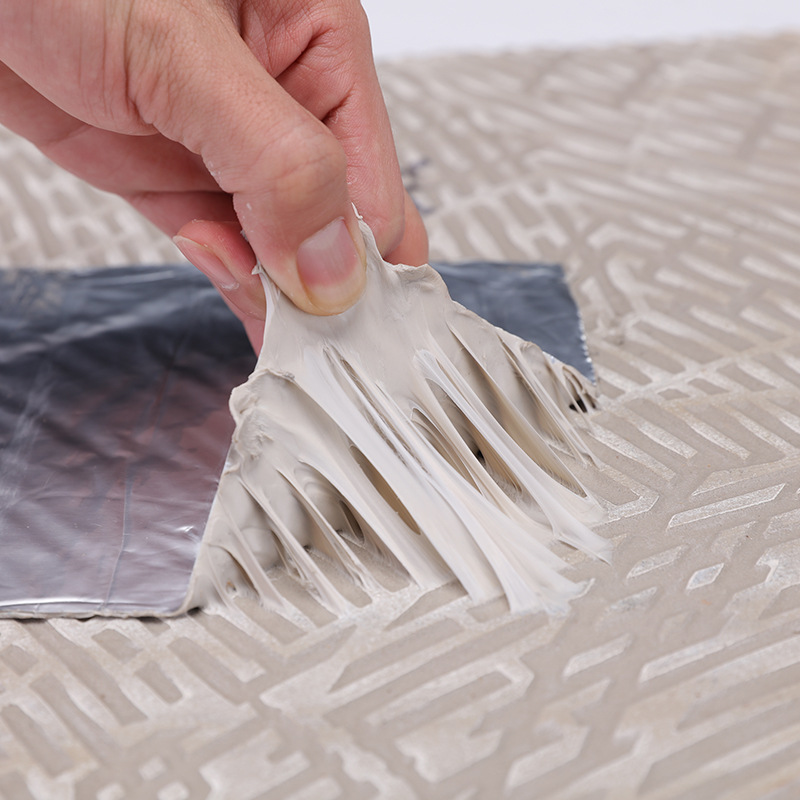 Plugging Waterproof Bandage Self-Adhesive Butyl Rubber Water Resistence And Leak Repairing Coil Color Steel Plugging Butyl Water