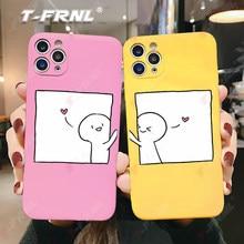 Para iphone xr caso bonito porco rosa para iphone se2020 6s 7 8 plus x xs caso amarelo whit verde vermelho tpu para 11 12 minipro max caso