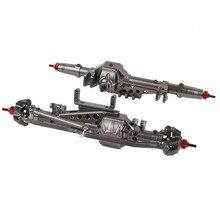 โลหะผสมCNCด้านหลังสำหรับ 1/10 RC Crawler Axial Wraith 90018 90020 90045 RR10 90048 90053