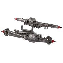 סגסוגת CNC קדמי סרן אחורי עבור 1/10 RC Crawler Axial Wraith 90018 90020 90045 RR10 90048 90053