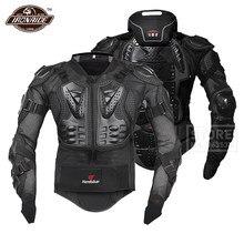HEROBIKER – armure de Moto, Protection du corps de course, veste de Motocross avec Protection du cou