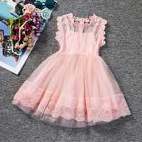 Menina do bebê floral rendas princesa tutu vestido de casamento vestido de batismo vestido de meninas roupas para crianças festa vestir meninas 2 6y